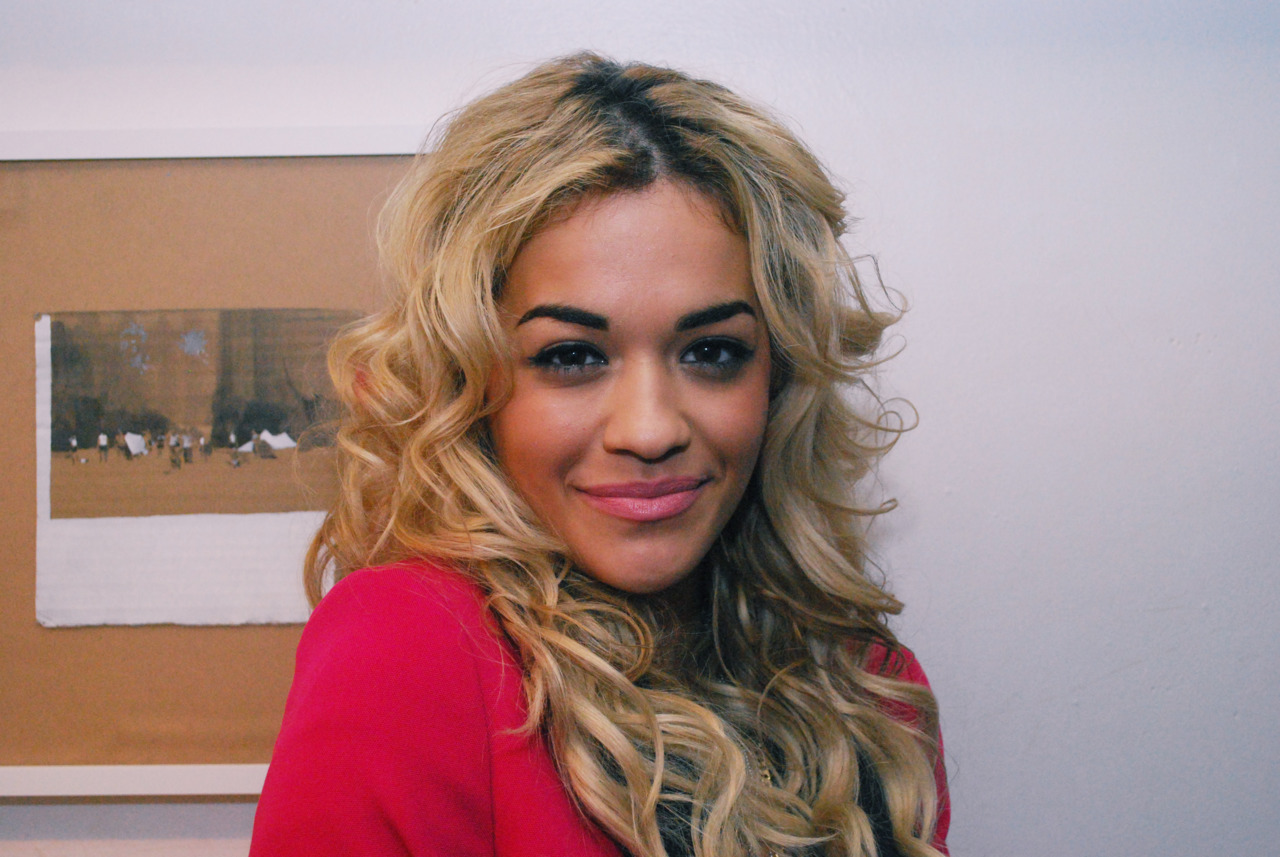 Got a snap of Rita Ora @  Trapstar x YoYo's showcase this past Thursday.