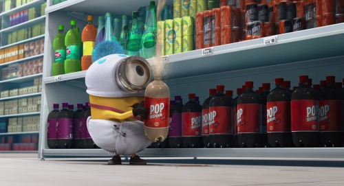 moviesandfood:  Despicable Me - Pop Soda