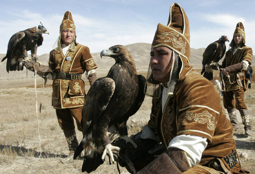 Kazakhstan sans Borat. I want a Golden Eagle of my own. Hunt out the rats of my past. I want to be a fierce and wise Berkutchi.