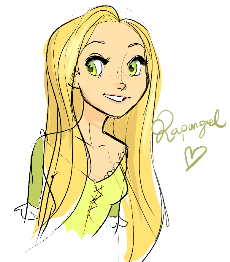 ahhhhhhh my sister has been listening to the tangled soundtrack OVER AND OVER and over and over I HAD TO DRAW HERRR
