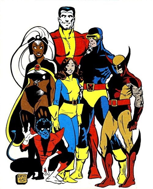 A Paul Smith picture of the X-Men that I have never seen before?! And it's a GROUP shot?! UUUUUGGHH THE BEST