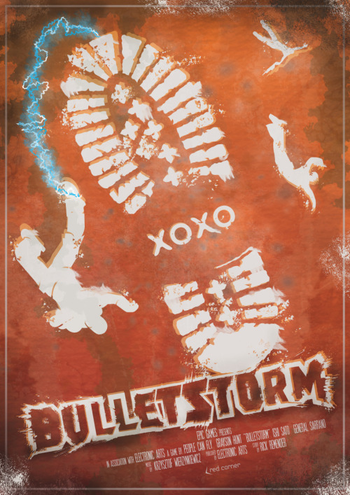 BULLETSTORM GAME/MOVIE POSTER