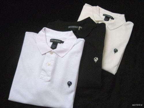 It's On eBay Benjamin Bixby Polo Shirts I've written already about how much I already miss Benjamin Bixby, Andre Benjamin's wonderful Gatsby-esque clothing line. I bought a huge amount of stuff on clearance at a store in San Francisco, including a bunch of these polos, which have a great slim fit. There are currently a number of models on eBay at $10 each. $9.99 plus $3.95 Shipping