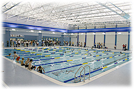 I just signed up for a swim clinic for next Sunday at the Triangle Aquatic Center in Cary, NC! It's 3 hours and I will learn how to swim efficiently.  The course says it will cover proper body position, proper breathing technique, the essentials, extension and underwater pull, and technique drills. I've never swum competitively so I never learned how to swim fast.  I'm really excited! I've always heard that swimming is all about technique and not so much about strength and if you don't learn to swim properly, it's harder to fix your mistakes.  Well luckily, I've only been swimming twice this year so I'm a blank canvas ready to be filled with swimming expertise!  For example, one of my guy friends was convinced that you just had to practice to get better (but it doesn't do any good to practice bad form) so he would swim for an hour everyday.  When we both did an indoor triathlon, he and I swam the same distance in 15 minutes only I had not swam since last fall.  Haha I'll also get a DVD about swim technique at the class to remind me of proper form. :D  I hope to improve a huuuuuuuuge amount.