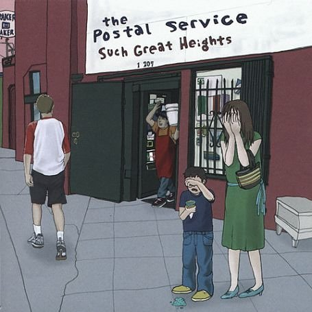 The Postal Service…Owl City, only not gay