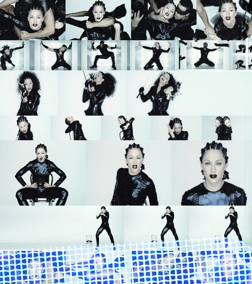 Favorite Music Videos (in no particular order)       Madonna || Human Nature (1995)  I'm not your bitch don't hang your shit on me [it's human nature] You wouldn't let me say the words I longed to say You didn't want to see life through my eyes You tried to shove me back inside your narrow room And silence me with bitterness and lies
