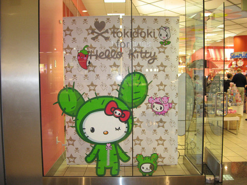 Tokidoki for Hello Kitty (2008) Window Display, San Francisco