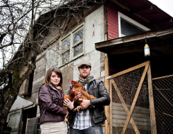 NY Times: In New Food Culture, A Young Generation of Farmers Emerges Mr. Jones, 30, and his wife, Alicia, 27, are among an emerging group of  people in their 20s and 30s who have chosen farming as a career. Many  shun industrial, mechanized farming and list punk rock, Karl Marx, and the food journalist Michael Pollan, as their influences. via publichealthpolicy