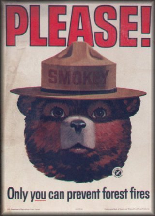 Smokey the Bear!