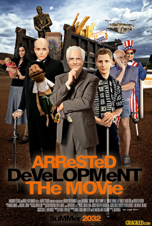 The Arrested Development Movie finally gets a release date. via schwaggology:thecomedystore