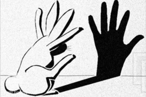 Reverse Shadow Puppet