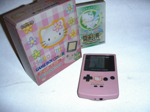 Hello Kitty Gameboy Color (1999/2000)