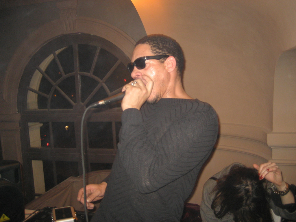 joey starr aka le jaguar, apc party, le trianon, paris