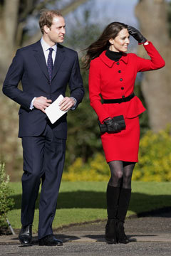 stylelistsays:  Kate Middleton Wedding Dress Designer is Alexander McQueen's Sarah Burton Kate Middleton's wedding dress designer is Alexander McQueen creative director, Sarah Burton, according to reports in British newspapers.While McQueen officials are issuing denials — which they would be obliged to do, even if it were true — sources told the UK's Telegraph that Burton has been chosen for her discretion, talent, and quirky, feminine take on elegance. Full story on StyleList here. [Prince William and Kate Middleton visit St. Andrews. Photo: Indigo/Getty Images]