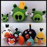 Angry Birds Plushies….Free Patterns and Instructions for each character!! Obsessively Stitching