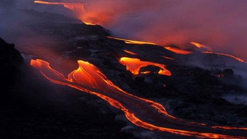 Scientists monitor new eruptions at Hawaii's Kilauea VolcanoThe volcano is being closely monitored for heightened activity after a fissure sent lava spewing 65 feet in the air.