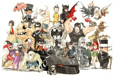 xombiedirge:  Gotham Mini by Dustin Nguyen