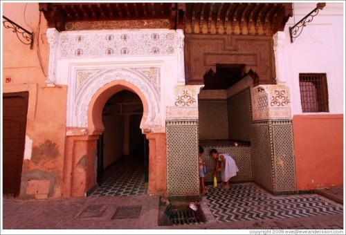 MARRAKESH (Medina Doorway) #AFRICA