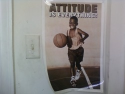 18wheelr:  rollednotes:  ATTITUDE IS EVERYTHING!  #RealTalk