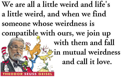 What's your favourite Dr. Seuss quote?