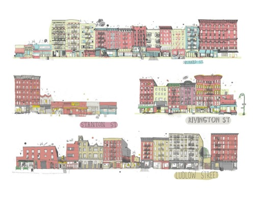 Full Lower East Side Block (Source: All the Buildings in New York)
