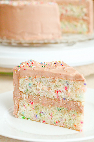 boyfriendreplacement:  Funfetti cake - so colorful and fun! Recipe