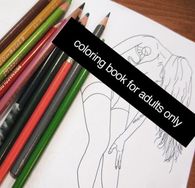 Just when you thought you'd never find an adult erotic coloring book…