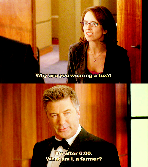 30 Rock - What am I, a farmer? - S1E7 Captured Captions