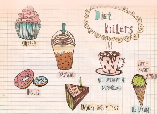 I love everything on this list. Especially ice cream. So hard to stop/cut back on ice cream…