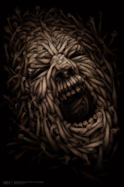 """Society"" by Anton Semenov via cgunit"
