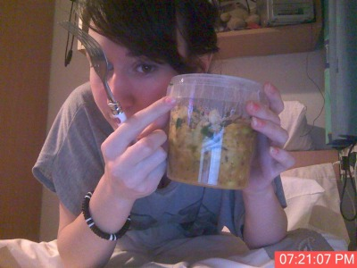 omnomnomnom… innocent veg pot - thai curry amaaazing
