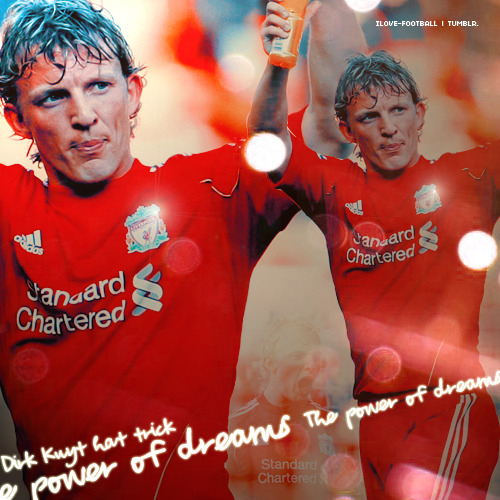 ilove-football:  The power of dreams. Dirk Kuyt 18