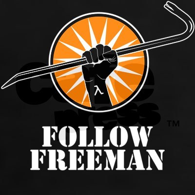 Hey Follow Freeman!