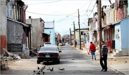 The Deteriorating Streets of Camden (New York Times) So close, yet so far.
