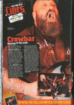 Review from our recent support slot with Crowbar at The Underworld, London