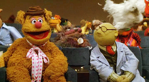Fozzie: I'm so nervous. If I'm not funny I won't be able to live with myself.Honeydew: Well, then you'll have to get another apartment, won't you?