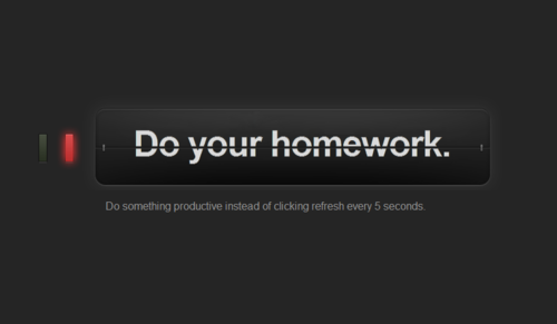 whenwefell:  Tumblr is the main source of my procrastination.  Ahh if only it really said that… because it really should.