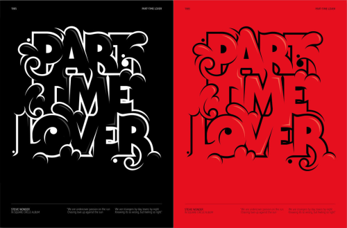 Part Time Lover and more by André Beato (via)