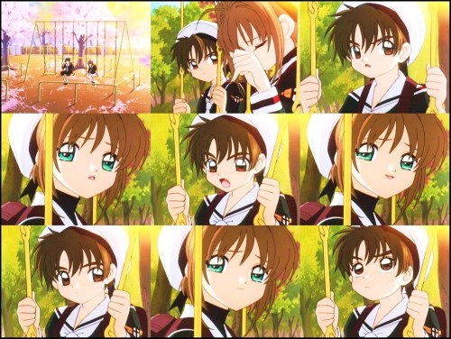 Sweet, caring, and blushing Syaoran :3 (can't remember what number I'm in now, but W/E) Kawaii! ♥  Card Captor Sakura episode 37Sakura and Tomoyo's Lost Voice