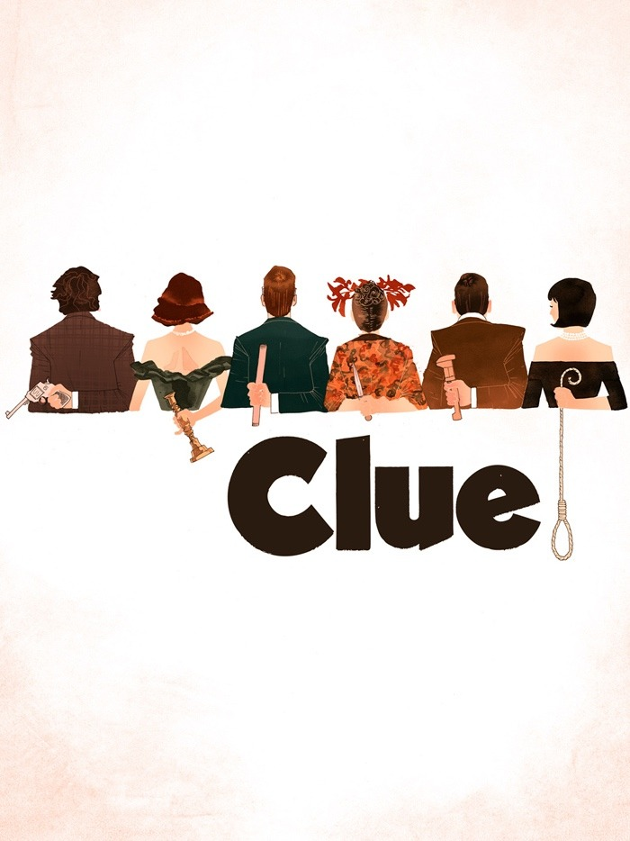 creeperthulu:  autumngreen:  a CLUE movie poster created by Kevin Wada