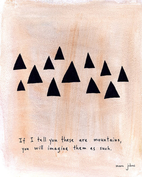 loveyourchaos:  (by Marc Johns)