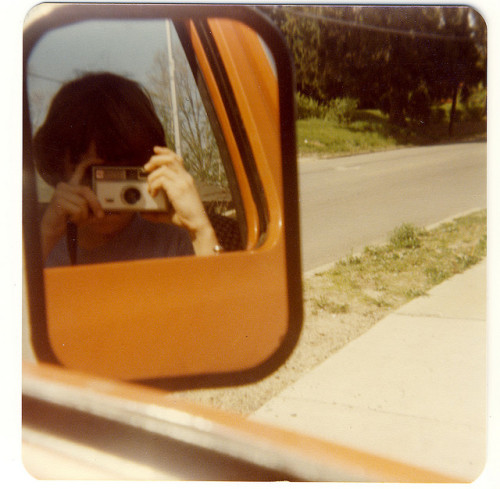 Riding in dad's truck - 1979