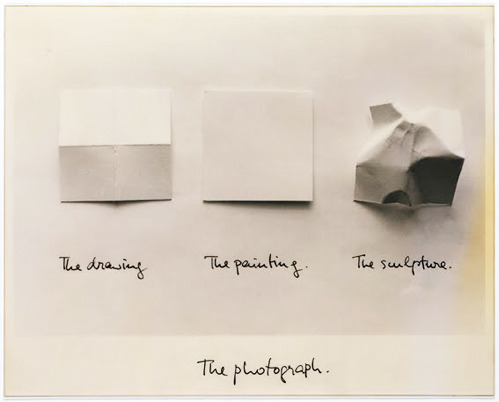 The drawing, the Painting, the Sculpture, The Photograph