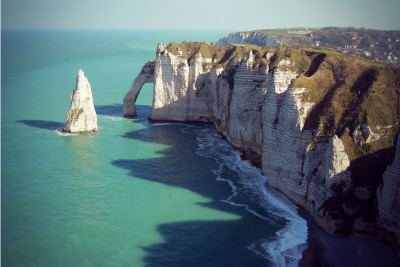 Cliffs of Normandie, France