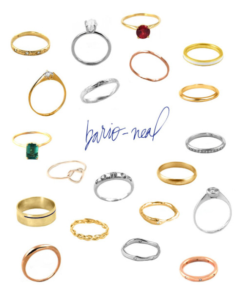 Bario Neal They create fabulous jewelry that it kind of on the pricey range, but they are very unique. They make custom wedding rings that will fit your personalty and your wedding perfectly. Enjoy and Happy Planning. <3