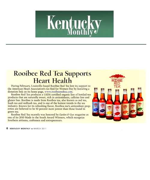 Proud to be Kentucky Proud. Thanks, Kentucky Monthly!