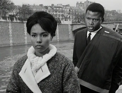 vintageblackglamour:  Diahann Carroll & Sidney Poitier in 1961's Paris Blues.