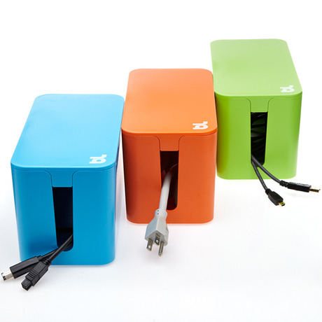 Store your cords at home in style!! ideeli | CABLEBOX MINI Cablebox Mini