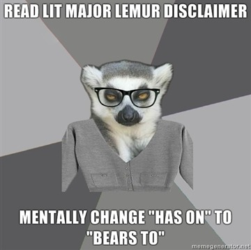 litmajorlemur:  Submitted by jwisser  To jwisser: Our description was grammatically correct; however, we recognize this to be more appropriate for that particular sentence. Thank you!