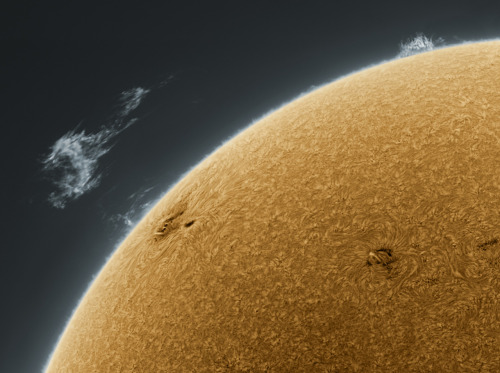 This, my friends, is a picture of the sun. I would love to see it like this in person in the future.